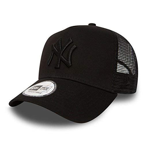 adcd52ef7be New Era Trucker Mesh Cap im Bundle mit UD Bandana NY Yankees Black Black -