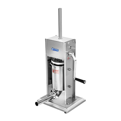 41Scw5h17SL. SS500  - Royal Catering - RCWF-3L-H - Sausage Stuffer/Sausage Filler - 3 Litre Capacity - Stainless Steel