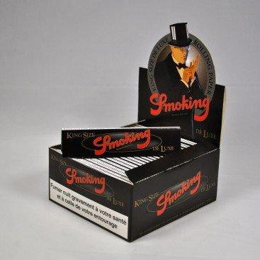 Boîte de papier à rouler pour fumer deluxe - Boîte de 50 plaquettes