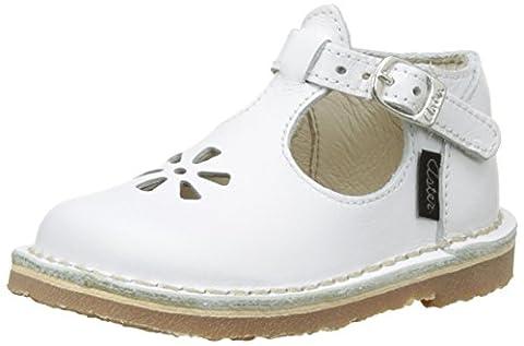 Aster Bimbo, Sandales Bébé Fille, Blanc (Blanc), 21