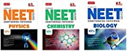 Mtg Complete Neet Guide Combo ( Physics + Chemistry + Biology ) Set Of 3 Books , 2021 Latest Revised Edition