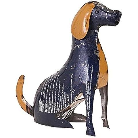 IMAX worldwide-one fonte 'Pedro il tuo cucciolo' Recupero in metallo Statuetta da collezione, multicolore