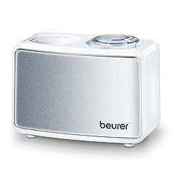 Beurer LB 12 Mini-Luftbefeuchter, mit Ultraschall-Befeuchtungstechnologie, Ideal fürs Büro oder auf Reisen