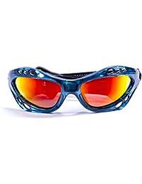 Ocean Sunglasses Australia - lunettes de soleil polarisées - Monture : Vert Transparent - Verres : Revo Jaune (11701.5)