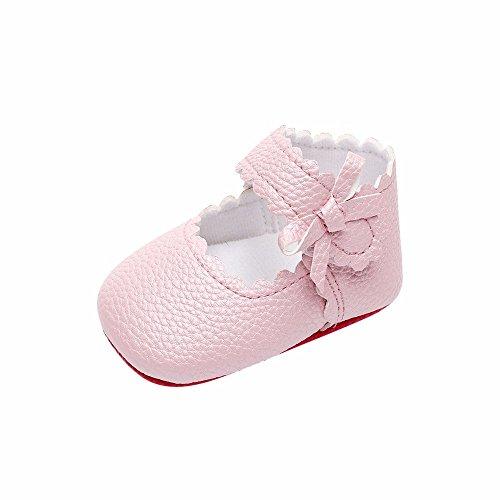 bd1c902adad16 DAY8 Chaussure Bébé Fille Été Princesse Mariage Chaussure Bébé Fille  Premier Pas Bapteme Chic Bowknot Fashion