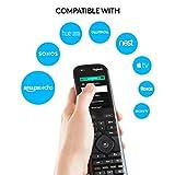 Logitech Harmony Elite Remote Control, Hub and App, Works with Alexa, Black