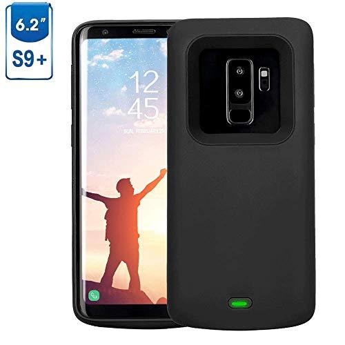 Mbuynow Akku Hülle für Galaxy S9 Plus 5200 mAh, Handyhülle Ultra dünnes Akku Case Hülle Lithium-Polymer Battery Akkucase Power Bank Cover für Galaxy S9 Plus