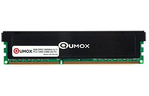 QUMOX 8GB DDR3 1600MHz PC3-12800 PC-12800 (240 PIN) DIMM Desktop-Speicher