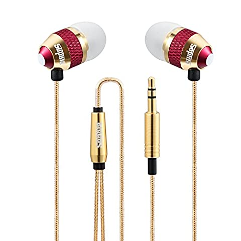 Sephia SP1050 In-Ear-Kopfhörer, Geräuschisolierung, Stereo-Bass-Sound, für iPhone, iPad, iPod, Samsung Galaxy, MP3-Player, Nokia, HTC, Nexus, BlackBerry