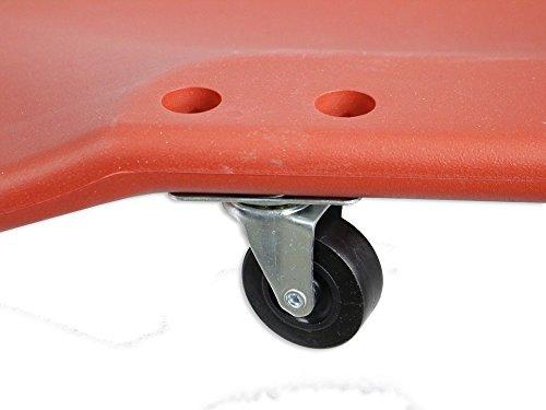 Vetrineinrete carrello sotto auto per meccanico officina con