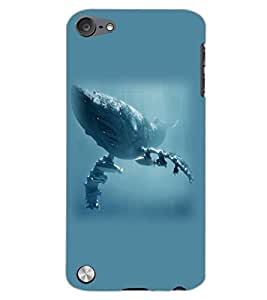 APPLE IPOD TOUCH 5 SEA MONSTER Back Cover by PRINTSWAG