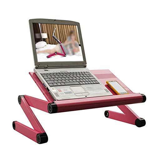 WKK Ergonomisches faltendes Tablettgestell des tragbaren Laptopschreibtischschreibens