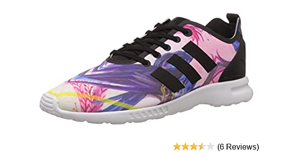 new style 6ce7d ce879 adidas ZX Flux Smooth, Women s Trainers  Amazon.co.uk  Shoes   Bags