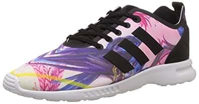 adidas Zx Flux Smooth, Sneakers Basses femme, Noir (Core Black/Core Black/Core White), 36 EU (3.5 UK)