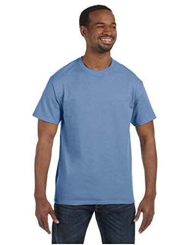 Jerzees 5.6 oz, 50/50 Heavyweight Blend T-Shirt (29 M) XXXXX-Large Blau - hellblau (Jerzees Heavyweight Blend)