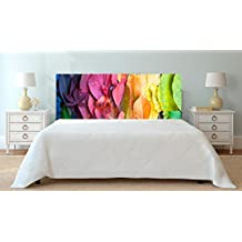 Cabecero Cama PVC Impresión Digital Hojas Otoño Multicolor 150 x 60 cm | Disponible en Varias