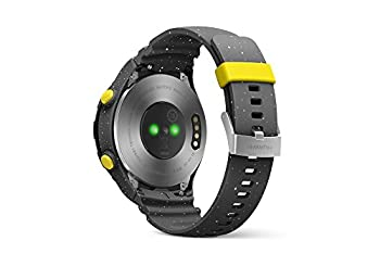 Huawei Watch 2 (Bluetooth) Smartwatch Mit Grauem Sportarmband (Nfc, Bluetooth, Wlan, Android Wear™ 2.0) Grau 1