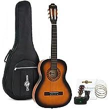 Pack de Guitarra Española de 3/4 de Gear4music - Sunburst