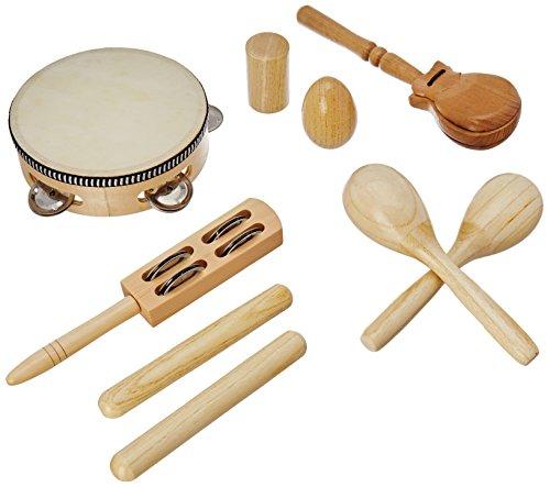 Delson LT7 Set aus 7 Schlaginstrumenten/Percussion-Instrumenten, mit Rucksack