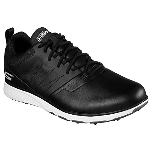 Skechers Mens 2019 GO Golf Mojo Punch Shot Chaussures de Golf Imperméables 54538 Black/Silver 7.5UK