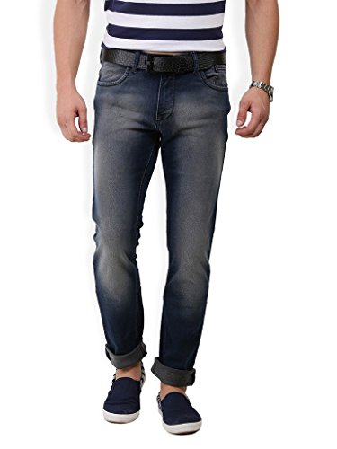 Police Mens Cotton Slim Fit Jeans