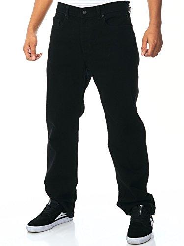 Element Rochester Regular Straight Fit Jeans BlackBlack