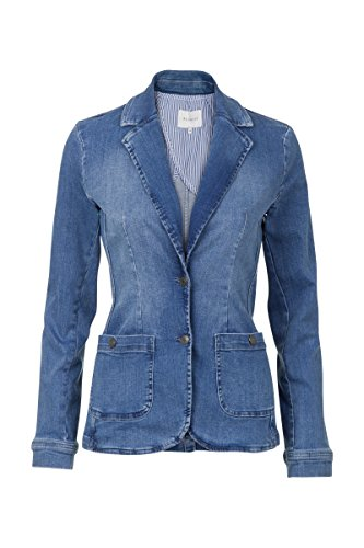 Promiss Damen Jeans Blazer Blau 044
