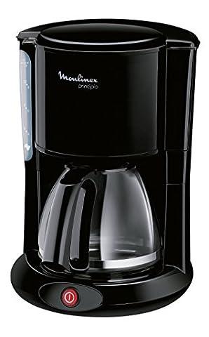 Moulinex FG260811 Glas-Kaffeemaschine, schwarz