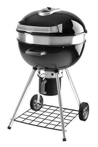Napoleon Grills PRO22K Grill Charcoal barbecue - barbecues & grills (Cart, Black, Round, Steel)