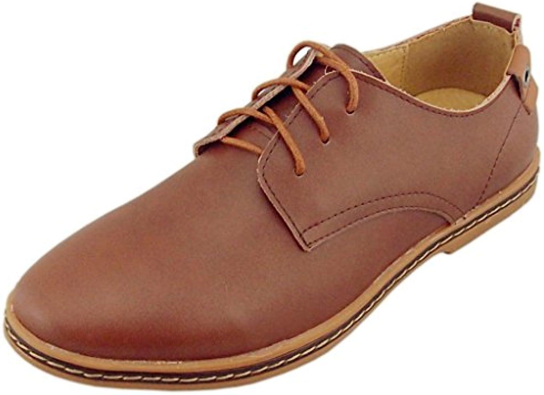 DADAWEN 61173  Herren Oxford Stiefel  Billig und erschwinglich Im Verkauf