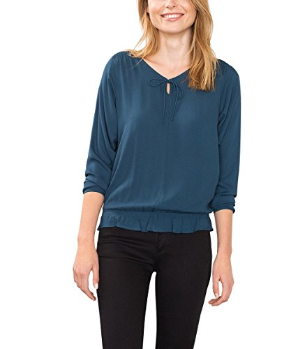 esprit-womens-106ee1f014-blouse-blue-teal-blue-38