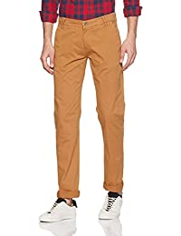 Peter England Men's Chino Casual Trousers
