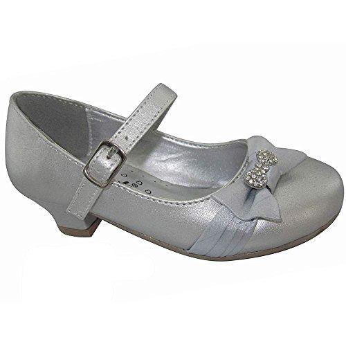 RBS , Sandales pour fille Clover: Silver
