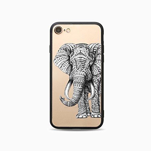 Coque iPhone X Nouveau Housse étui-Case Transparent Liquid Crystal Les animaux en TPU Silicone Clair,Protection Ultra Mince Premium,Coque Prime pour iPhone X Nouveau-Ours-style 6 17