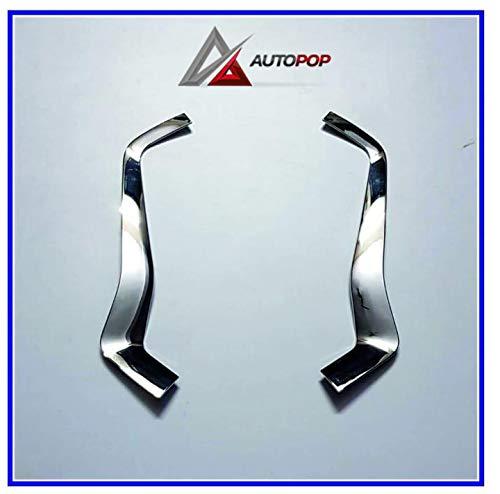 AutoPop Imported Front Grill Chrome Garnish for Hyundai Venue - 2pc