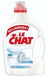 Le Chat - Liquide Sensitive 0% - Flacon 3 L - 40 Lavages