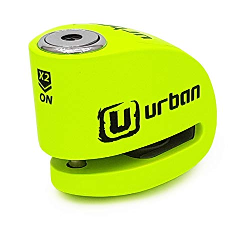 Urban Security UR906X Candado antirrobo moto disco alarma 120 db, Amar