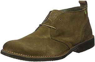 El Naturalista Men's Ng23 Lux Suede Kaki/Yugen Moccasin Boots, Green (Kaki), 9 UK