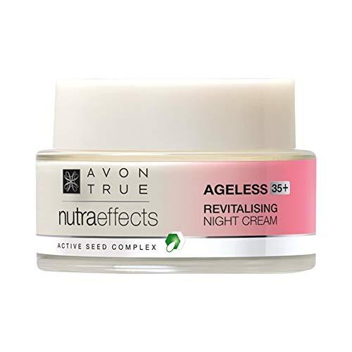 Avon Nutra Effects Ageless Anti-Aging Nachtcreme für Haut ab 35 Nachfolger von Solutions Bloom