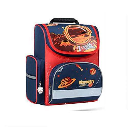 Dwyrd borsa a tracolla per astronave zaino per bambini ragazza con busta impermeabile a striscia fluorescente c