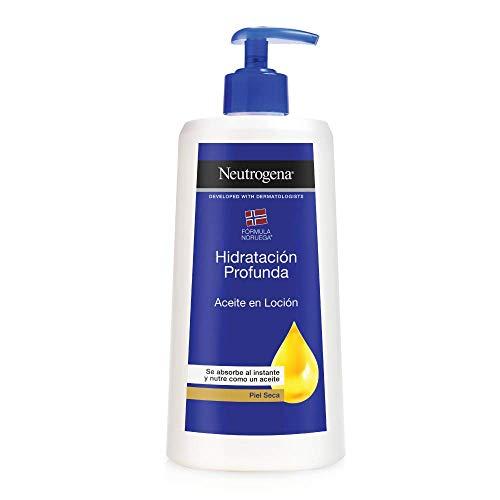 Neutrogena Aceite loción hidratación profunda -