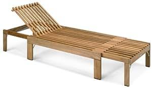 Skagerak - Sdraio Riviera in legno di tek