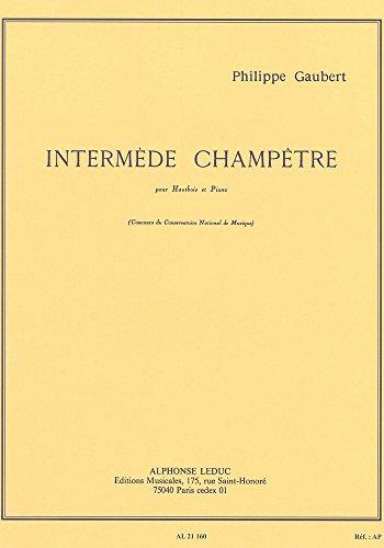 INTERMEDE CHAMPETRE HAUTBOIS ET PIANO
