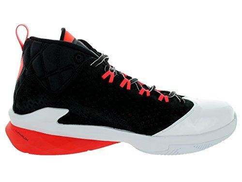 Jordan Flight Time 14.5 Chaussures de basket Black/White/White/Infrared 23