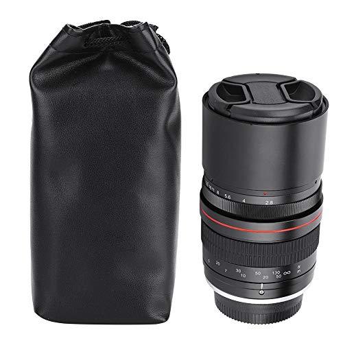 Simlug Spiegelfreies Kameraobjektiv, 135-mm-F2.8-DSLR-Vollformat-Teleobjektiv mit großer Blende und manueller Fokussierung(for Canon EF)