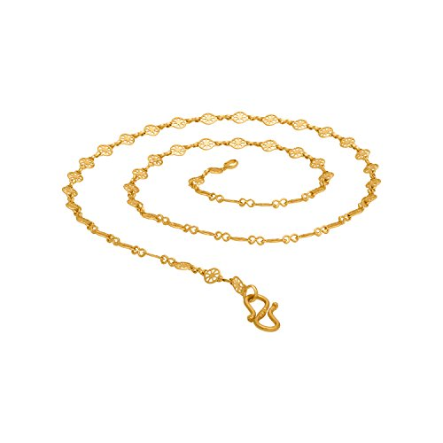 Voylla Gold Plated Chain for Men (8907617509402)