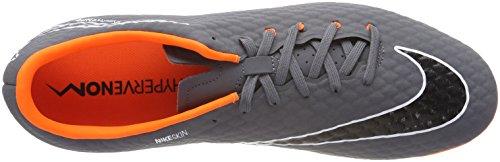 NIKE Men s Phantom 3 Academy Fg Football Boots   Dark Grey Total Orange-White 081   7 UK