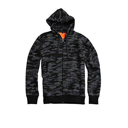 Alpha Industries Zip Hoody X-Fit Black Camo