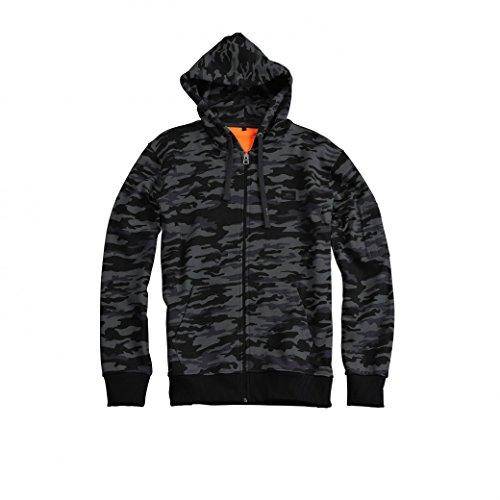 Alpha Industries Zip Hoody X-Fit Noir/camouflage