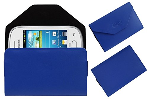 Acm Premium Pouch Case For Samsung Galaxy Star S5280 S5282 Flip Flap Cover Holder Blue  available at amazon for Rs.179